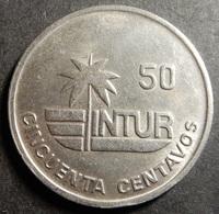Cuba Intur 50 Centavos 1989 KM#461 Top Grade Rare! - Cuba