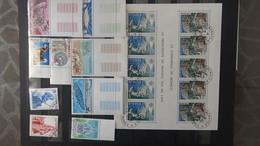 Belle Collection De MONACO Avec Oblitérations Choisies + Aérogrammes + CP.Pas Commun !!! - Timbres