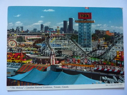 """Cartolina """"THE MIDWAY Canadian National Exhibition, Canada"""" 1973 - Montreal"""
