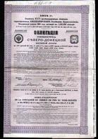 1914, Compagnie De Chemin De Fer Du Nord Donetz - Chemin De Fer & Tramway