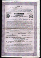 1914, Compagnie De Chemin De Fer Du Nord Donetz - Ferrovie & Tranvie