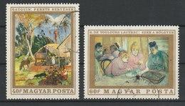 MiNr. 2506 - 2512  Ungarn 1969, 28. Mai. Gemälde Französischer Meister. - Ungarn