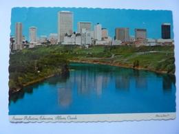 "Cartolina ""Summer Reflection Edmonton, Alberta Canada"" 1976 - Edmonton"