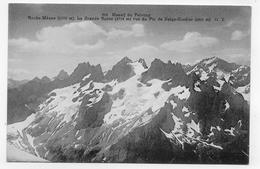 MASSIF DU PELVOUX - N° 818 - ROCHE MEANE - LA GRANDE RUINE VUE DU PIC DE NEIGE CORDIER - CPA NON VOYAGEE - France