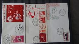 Bon Lot De 75 Enveloppes 1er Jour Anciennes Colonies Françaises +  22 Autres Pays.Pas Commun !!! - Timbres