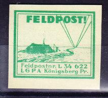 ALLEMAGNE Vignette  Feldpost Luftwaffe,   (7B848) - Sin Clasificación