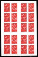 France Variété Carnet Usage Courant Lamouche  + Phosphore  N° 3744 C3 / C550 Neuf XX MNH - Usage Courant