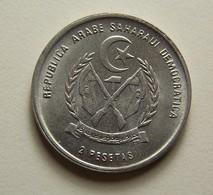 Saharawi Arab D. R. 2 Pesetas 1992 - Monnaies