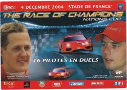Stade De France: 'The Race Of Champions Nation Cup': MICHAEL SCHUMACHER Vs. SÉBASTIEN LOEB - FERRARI F430 - (2004,Paris) - Grand Prix / F1