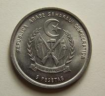 Saharawi Arab D. R. 5 Pesetas 1992 - Monnaies