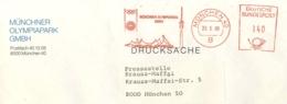 7239  Jeux Olympiques Munich, Ema Stade Olimpique - Summer Olympics Munich 1972: Olympic Stadium Meter Stamp - Estate 1972: Monaco