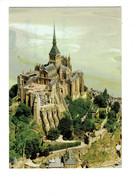 Cpm - 50 - Le Mont Saint Michel -  - Travaux échafaudage - Le Mont Saint Michel