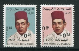 MAROC- Y&T N°598 Et 599- Neufs Sans Charnière ** - Maroc (1956-...)
