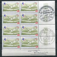 France Coupe Du Monde  De Football  -  Premier Jour; 28 Avril 1982 - - Timbre Avec Signature - Coupe Du Monde