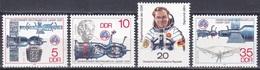 Deutschland Germany DDR 1978 Weltall Weltraum Raumfahrt Raumschiff Space Ship Sojus Einstein Lilienthal, Mi. 2359-2 ** - DDR