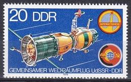 Deutschland Germany DDR 1978 Weltall Weltraum Raumfahrt Raumschiff Space Ship Sojus Interkosmos, Mi. 2355 ** - [6] République Démocratique