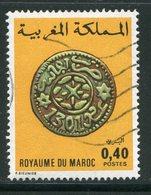 MAROC- Y&T N°746- Oblitéré - Monnaies