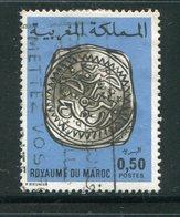 MAROC- Y&T N°747- Oblitéré - Monnaies