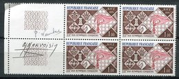 France - Echèque -    - Timbre Avec Signature - Monvoisin - Lambert - Timbres