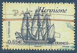 FRANCE 4253 Hermione - Voiliers Célèbres (2008) Neuf** - Bateaux