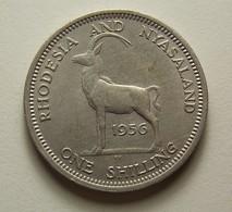 Rhodesia And Nyasaland 1 Shilling 1956 - Rhodesien