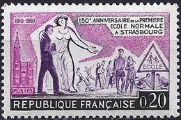 France 1960 - Mi 1307 - YT 1254 ( Normal School In Strasbourg ) MNH** - Ongebruikt