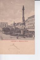 Le Monument David à Verviers , Animée. - Monuments