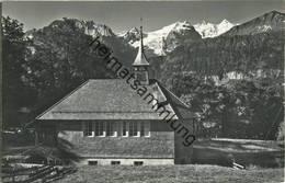 Hasliberg - Kapelle Hohfluh - Foto-AK - Verlag Gyger Adelboden Gel. 1971 - BE Berne