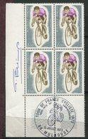 France - Tour De France  1973 -   - Timbre Avec Signature - Ciclismo