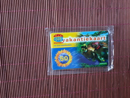 Prepaidcard Diving Vakantiekaart Number 000000.000000(Mint,Neuve) In Blister 2 Scans Very Rare - Nederland