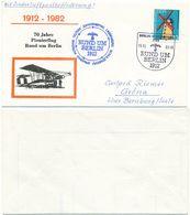 Pionierflug, 70 Jahre Pionierflug Rund Um Berlin, Luftpost Air Mail DDR 1982 - DDR