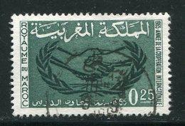 MAROC- Y&T N°486- Oblitéré - Maroc (1956-...)