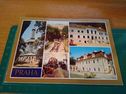 146279 Praha Praga Si Vede Funivia E Torre - Repubblica Ceca