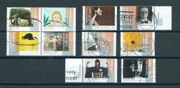 2005 Netherlands Complete Set Art,kunst Used/gebruikt/oblitere - Periode 1980-... (Beatrix)