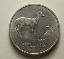 Zambia 2 Shillings 1966 - Zambie