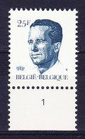 BELGIQUE COB 2356 ** MNH, NR PL 1, GOMME VERTE. (4TJ44A) - 1981-1990 Velghe