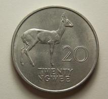 Zambia 20 Ngwee 1968 - Zambie