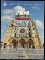 2018-ED. 5230 H.B. 12 Meses 12 Sellos. Catedral De León. León - USADO - 1931-Aujourd'hui: II. République - ....Juan Carlos I
