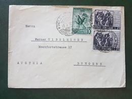 (18613) STORIA POSTALE ITALIA 1952 - 1946-.. République