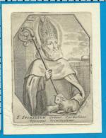 Holycard    St. Spiridion   Clouwet   17. Century - Images Religieuses