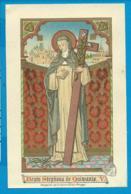 Holycard    B. Stephana De Quinzanis - Images Religieuses