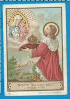 Holycard    St. Stefanus I  V. Hungary - Images Religieuses