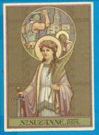 Holycard    St. Suzanne - Images Religieuses