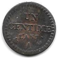 * 1 CENTIME L'an 7 Km 646  Vf - 1789-1795 Monnaies Constitutionnelles