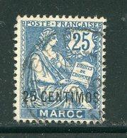 MAROC- Y&T N°14- Oblitéré - Maroc (1891-1956)