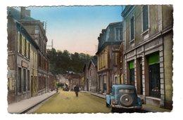 CPSM Photo Couleur  Homecourt 54 Meurthe Et Moselle Gros Plan Traction Avant Citroën Rue Georges Clémenceau - Homecourt