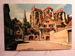 Auxerre - L'Eglise St Germain Et Vieilles Maisons - Auxerre
