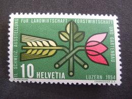 SWITZERLAND. 1954.  MI 593. LUZERN EXPOSITION MNH **  (S32-NVT) - Suisse