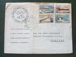 (18616) STORIA POSTALE ITALIA 1956 - 1946-.. République