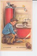 Le Plombier , De Loodgieter - Artisanat
